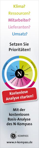 Setzen Sie Prioritäten. Mit der kostenlosen Basis-Analyse des N-Kompass.