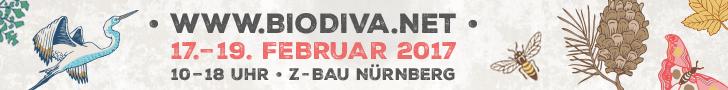 BIODIVA – Messe für den Artenschutz 17.–19. Februar 2017