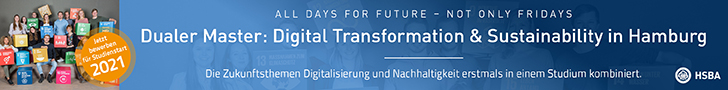 Dualer Master: Digital Transformation & Sustainability in Hamburg - HSBA