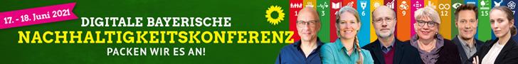 17.-18. Juni 2021: Digitale bayerische Nachhaltigkeitskonferenz. Packen wir es an!