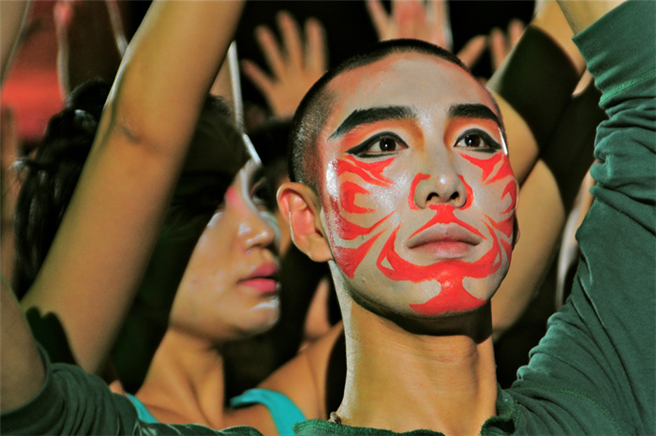 Konzentrierter Blick: Teilnehmer der III. Delphischen Spiele in Jeju Citiy/Korea / Foto: Sabine und Axel Sperl