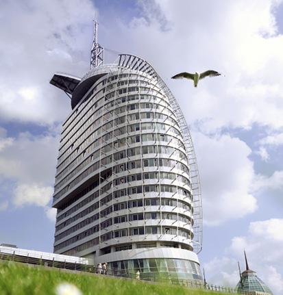 Der Certified Star-Award wird jährlich an die besten Green Hotels - auch im Tagungs- und Businessbereich - vergeben. © ATLANTIC Hotel SAIL City