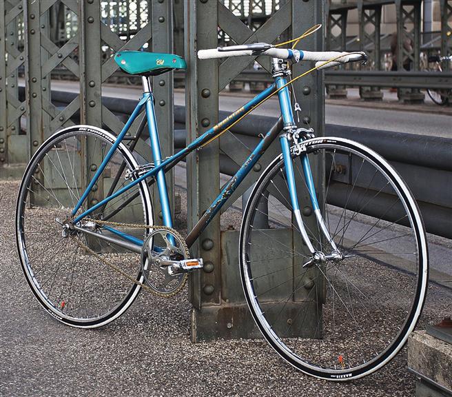 Ein Fahrrad als Paradebeispiel für gelungenes Teamwork ©Samstagrad