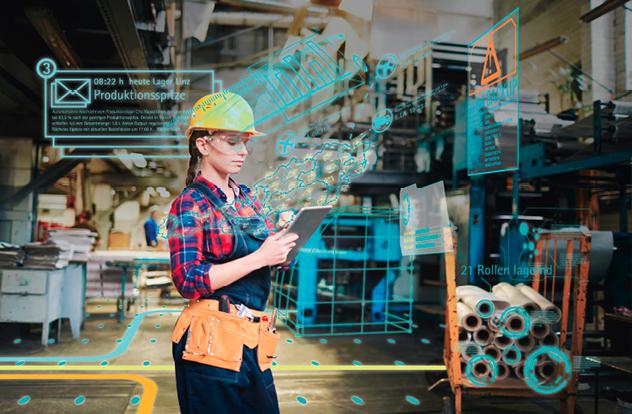 Arbeit, Produktion und die gesamte Wirtschaft stehen vor tiefgreifenden Änderungen. Die steuernde Hand der Politik ist hier gefragt. © shutterstock.com: Pressmaster