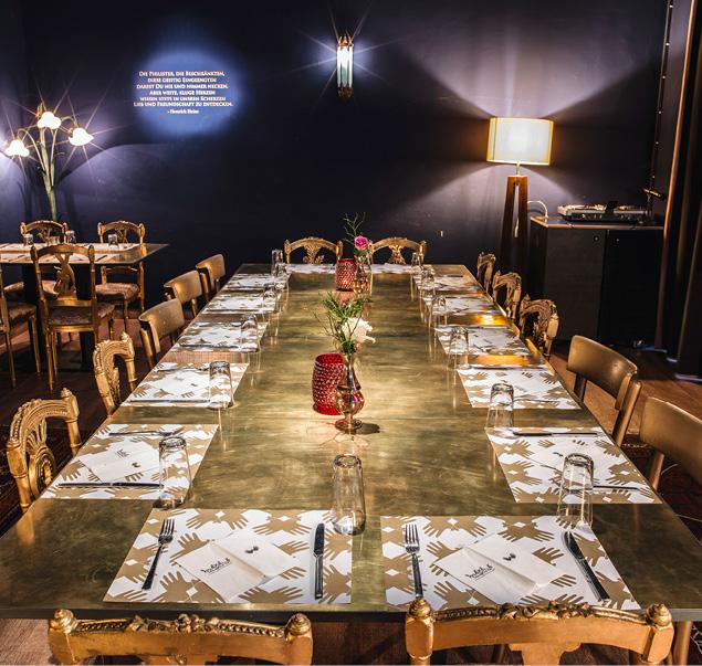 Das Habibi & Hawara hat schon jetzt Geschichte geschrieben. Sowohl als Restaurant wie auch als Ort der Integration. © Markus Thums