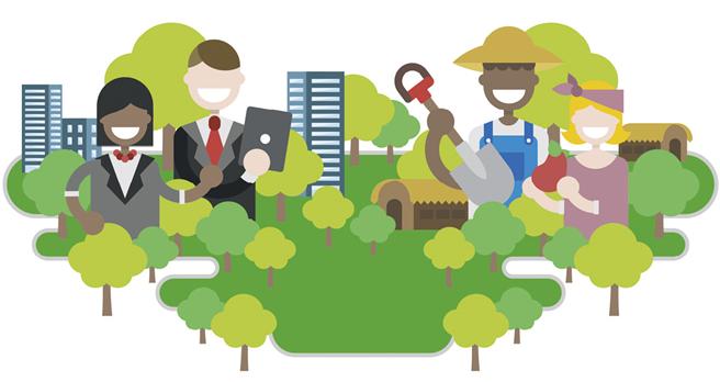 Die digitale Baumspende aus dem Norden schafft Arbeitsplätze, Einkommen und Entwicklung im Süden. © Treedom