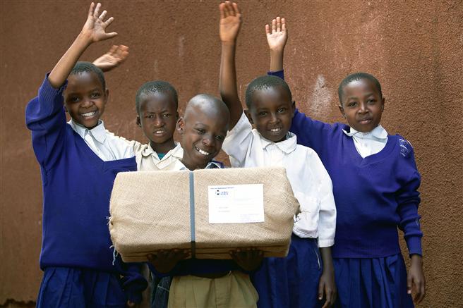 In Tansania errichtete action medeor mit Unterstützung der Jungheinrich AG ein neues Medikamentenlager. © medeor/Birgit Betzelt
