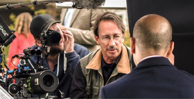 Der leidenschaftliche Filmemacher Carl-A. Fechner ist mit vollem Einsatz am Filmset. Foto: © change Filmverleih