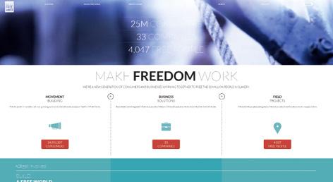Die NGO 'Made in a Free World' stellt Daten über Wirtschaftsgüter online, die in nachweisbarem Zusammenhang mit Sklavenarbeit stehen.