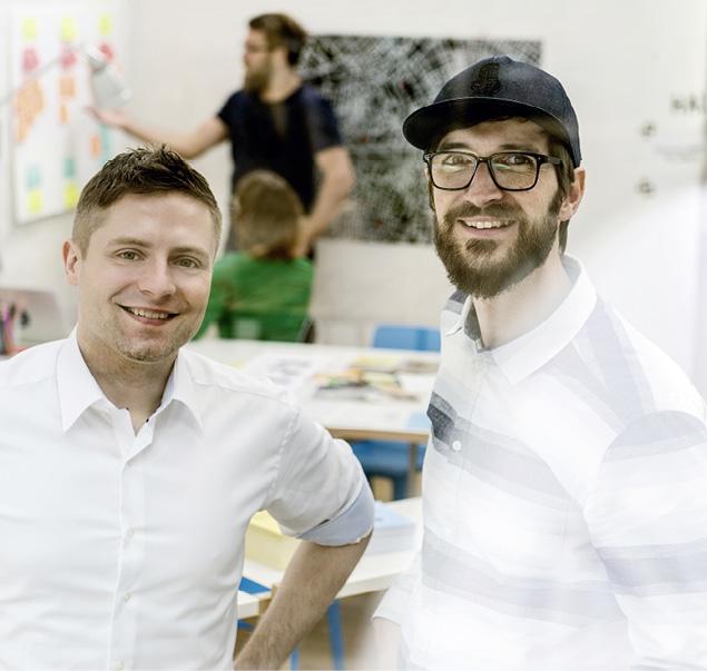 Die von Tino Kreßler und Denis Bartelt gegründete Crowdfunding-Plattform Startnext ist – wie auch Soulbottles – seit Anfang des Jahres eine Certified Benefit Corporation. Foto © Startnext