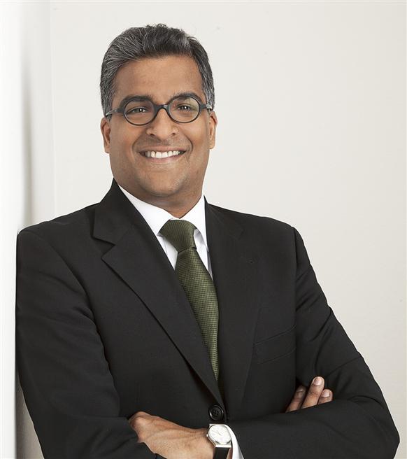 Als Vice President Sustainability & Global Competitive Intelligence setzt sich Apu Gosalia für nachhaltige Schmierstoffe ein. © Fuchs Petrolub SE
