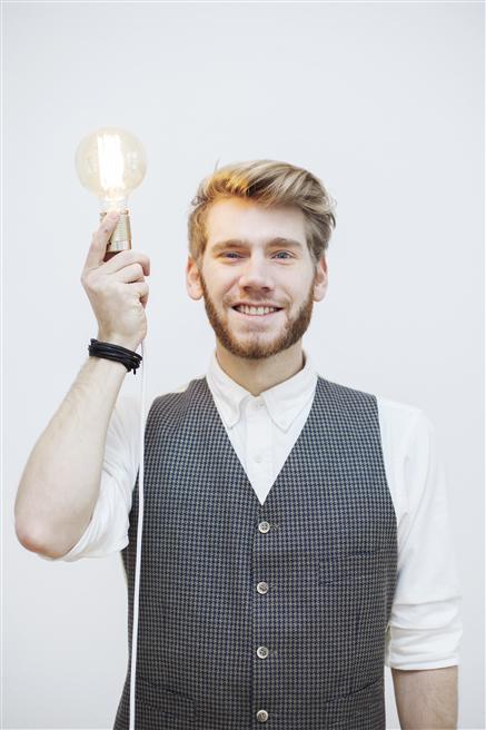 Kilian Karg entwickelt mit seiner jungen Agentur Ideen für innovative Produktentwicklung © protellus