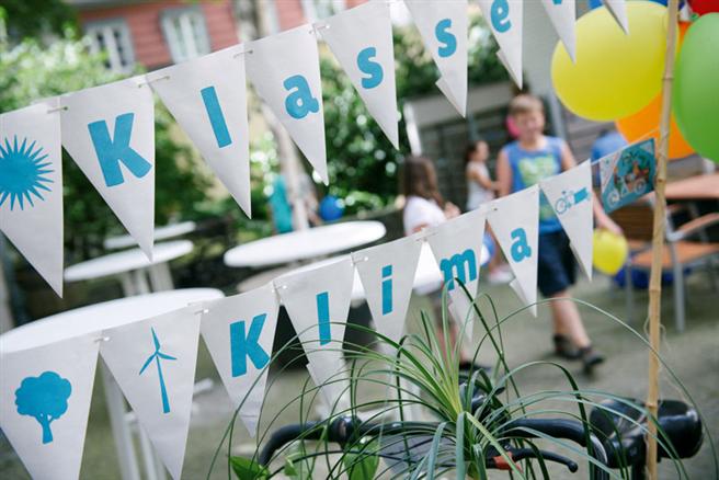 Mit dem Projekt ''Klasse KLima'' bringen die deutschen Jugendumweltverbände Klimaschutz ins Klassenzimmer. © www.klasse-klima.de