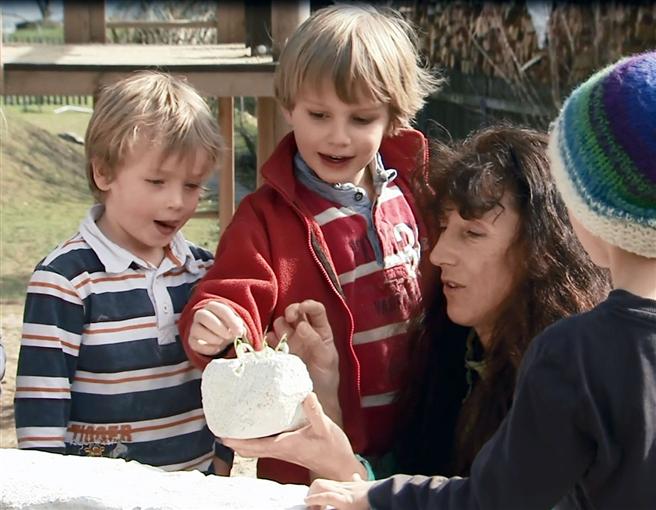 Junge Vor!Denker - Kinder erleben Freude an Verantwortung © Eberhard von Kuenheim Stiftung
