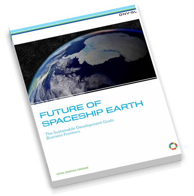 DNV GL geht in seinem Bericht 'Die Zukunft unseres Raumschiffs Erde' wesentlichen Fragen zu den 17 Zielen nachhaltiger Entwicklung der UN auf die Spur. © DNV GL