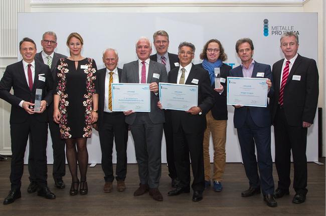 Best Practice Award 2017 – alle Preisträger © Metalle pro Klima