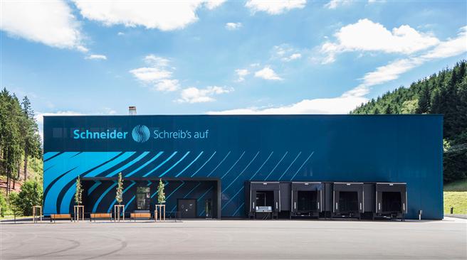 Schneider-Produkte sind Ergebnisse eines ökologischen und ökonomischen Denkens. © Schneider
