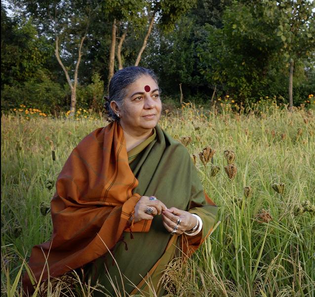 Die weltberühmte Aktivistin Vandana Shiva unterstützt die konsequente Bio-Strategie von Sikkim und setzt alles daran, ganz Indien Pestizidfrei zu machen. © colabora