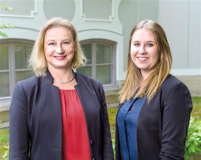 Birgit Röhrich und Felicitas Autsch © SOS Kinderdorf