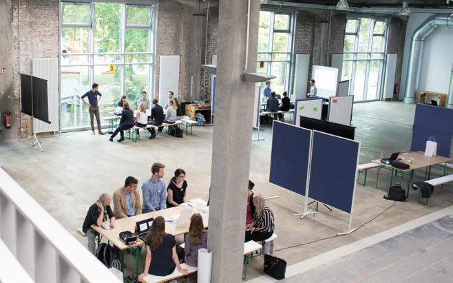 Das transdisziplinäre Forschungsprojekt MIA der RWTH Aachen University und der Stadt Aachen hat für ausgewählte Gebiete in Aachen gezeigt, dass ein Nebeneinander von Wohnen und Gewerbe in der Innenstadt gelingen kann © MIA Projekt