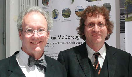 William McDonough (links) und Prof. Dr. Michael Braungart (rechts) © EPEA
