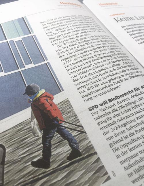 Handelsblatt, 10.07.2017 © VDMA