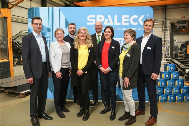 Rund 100 Teilnehmer sind am 21. März in Bocholt auf der Regionalkonferenz Mitarbeitergesundheit 4.0 zusammengekommen. © Spaleck GmbH & Co. KG