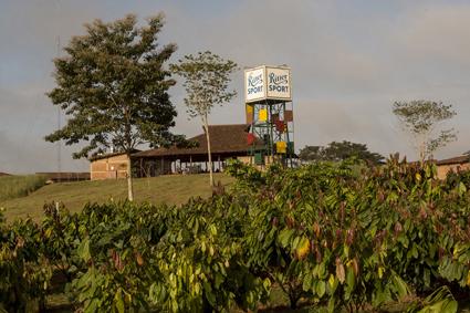 Sozial und ökologisch nachhaltig – die Ritter Sport Plantage El Cacao soll neue Standards im Kakaoanbau setzen. © Ritter