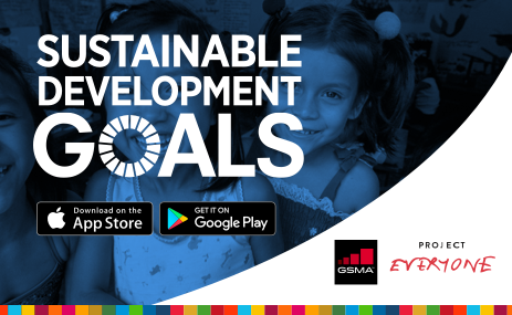 Die zwei neuen Projekte zu den Sustainable Development Goals: Der '2016 Mobile Industry Impact Report: SDGs' und die App 'SDGs in Action'. Foto: Deutsche Telekom