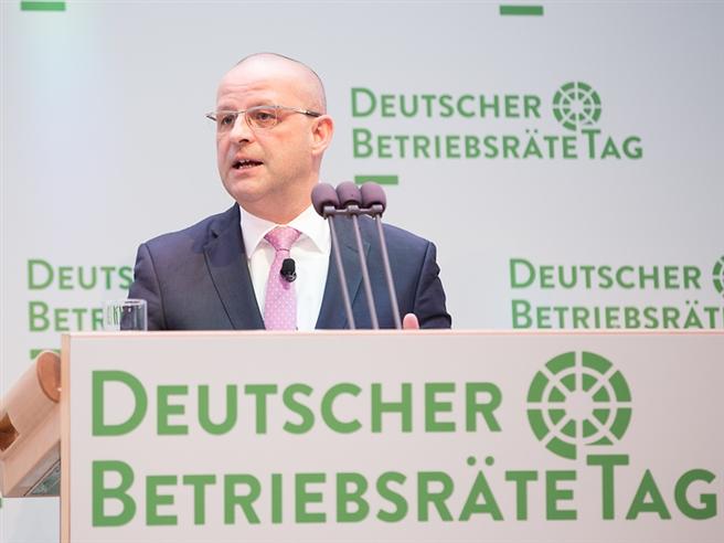 Martin Seiler, Deutscher Betriebsrätetag 2016. Foto: Deutsche Telekom
