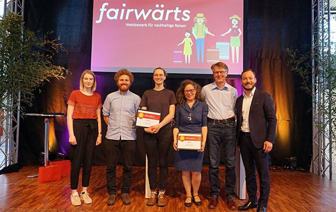 Preisverleihung fairwärts - Wettbewerb 2018. © TourCert