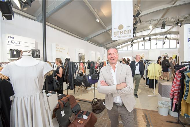 Offizielle Eröffnung Ethical Fashion Show Berlin Juli 2015. © Messe Frankfurt Exhibition GmbH