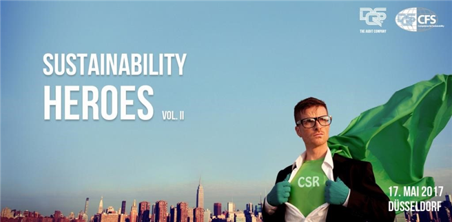 Plakat: Sustainability Heroes