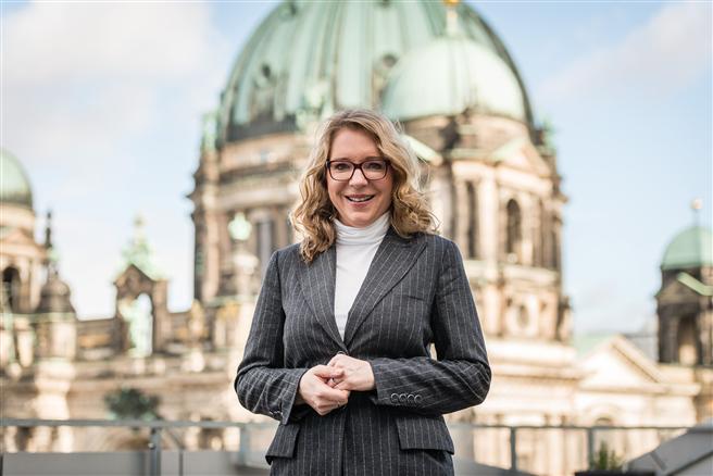 Prof. Dr. Claudia Kemfert erhält den Adam-Smith-Preis für marktwirtschaftliche Umweltpolitik. Foto: Ulf Büschleb