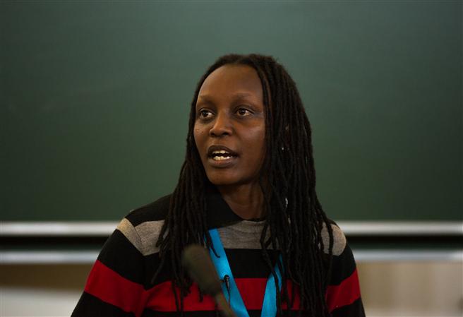 Kasha Jaqueline Nabagese: 'weil sie sich trotz unerträglicher Einschüchterung und Gewalt mit Mut und Hartnäckigkeit für das Recht von Lesben, Schwulen, Bisexuellen, Transgender und Intersexuellen auf ein Leben ohne Vorurteile und Verfolgung einsetzt.' © tobias bole