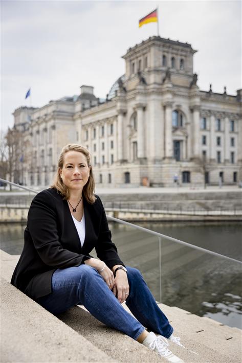 Dr. Katharina Reuter, Mit-Initiatorin von Entrepreneurs For Future und Geschäftsführerin des Bundesverbands Nachhaltige Wirtschaft e.V. erwartet von der kommenden Bundesregierung, endlich ihre Hausaufgaben zu machen. © Jörg Farys