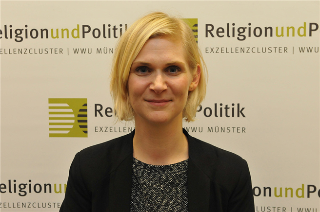 Prof. Dr. Katharina Glaab © Exzellenzcluster 'Religion und Politik', Martin Zaune