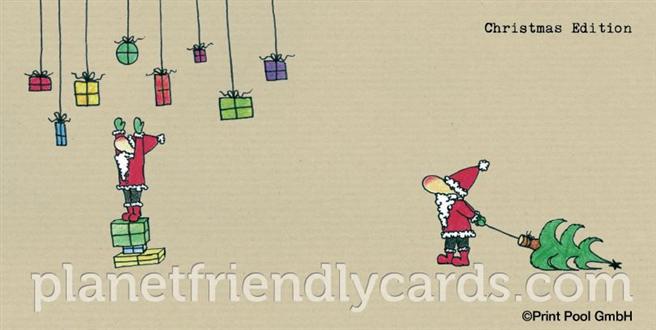 umweltfreundliche weihnachtskarten von bauhaus bis lebkuchen. Black Bedroom Furniture Sets. Home Design Ideas