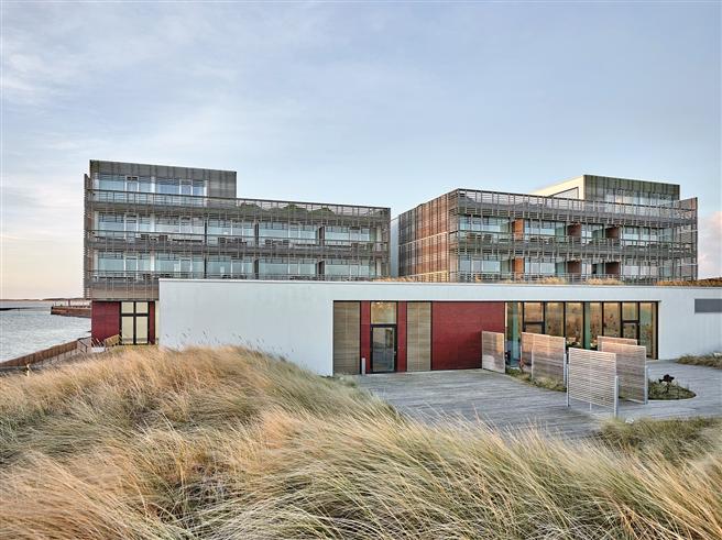 Grünes Denken wird im BUDERSAND Hotel – Golf & Spa – Sylt bereits seit der Eröffnung im Jahr 2009 in die Tat umgesetzt. © BUDERSAND Hotel - Golf & Spa - Sylt