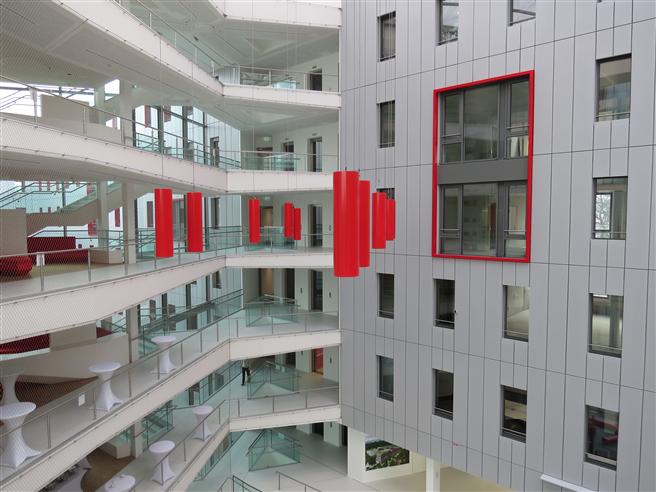 Wissenschaft meets Wirtschaft: Das 'House of Logistics and Mobility' © Hochschule Fresenius