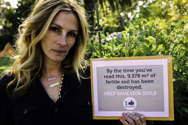 Mit Ihrem Bekenntnis zu 'Ich mag Bio!' reiht sich die US-Schauspielerin in die Liste der prominenten Unterstützer ein. © Nature & More