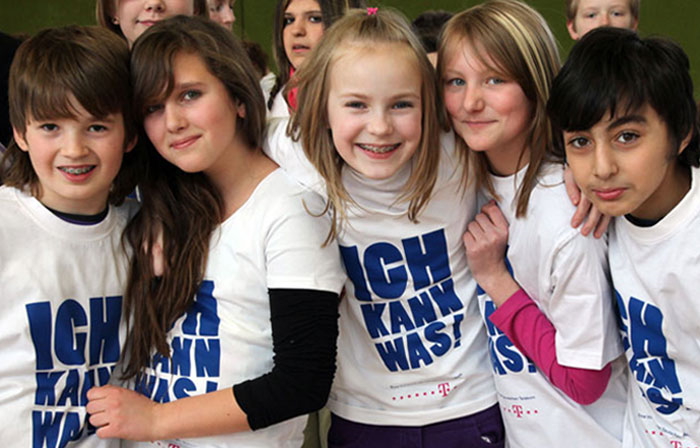 Durch die Förderung soll insbesondere jungen Menschen zwischen neun und 14 Jahren die Möglichkeit geboten werden, ihre persönlichen Fähigkeiten zu entdecken und zu vertiefen. © Telekom AG