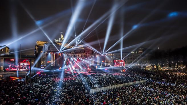 Die große ZDF-Silvester-Gala 2014 in Berlin. Foto: David Marschalsky