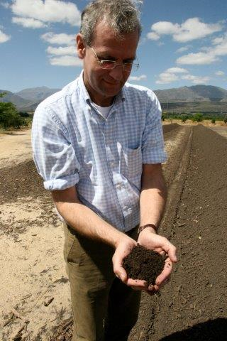 "Volkert Engelsmann, Initiator von ""Save Our Soils – Rettet unsere Böden © Save our Soils"