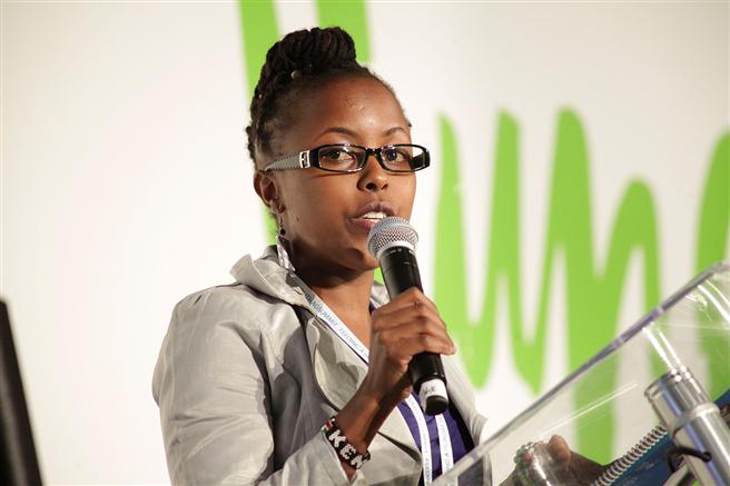 Mary Kamau aus Kenia war eine von 100 engagierten Delegierten aus der ganzen Welt. © Bayer AG