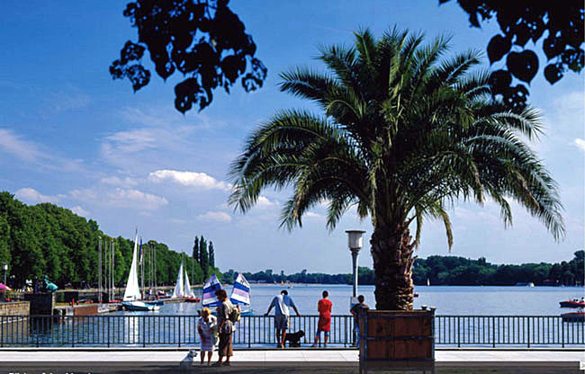 Mallorca? Malediven? Maschsee? Foto: Global Partnership Hannover