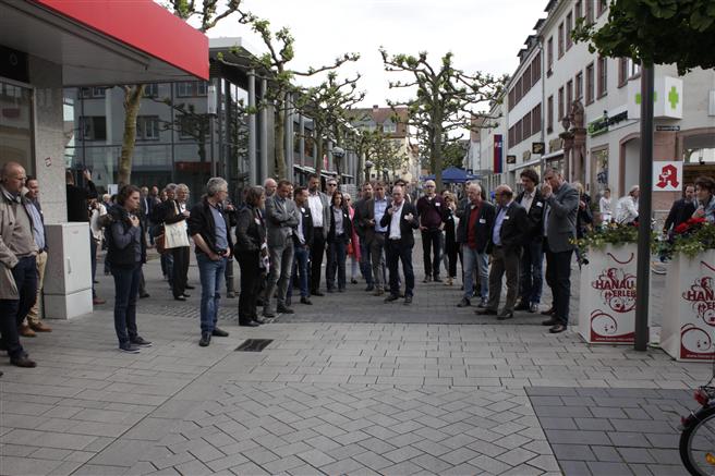 Interessierte Planer, Architekten und Ingenieure trafen sich im Mai bei der Auftakt-Veranstaltung in Hanau. Foto: Rinn GmbH