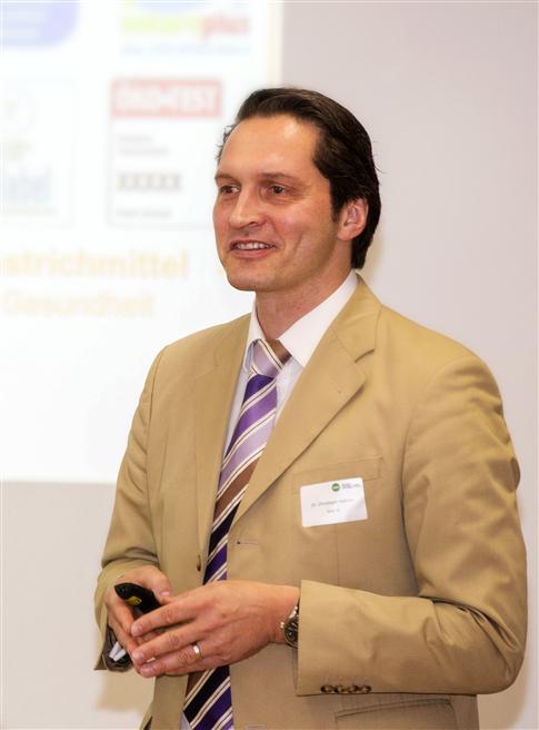 'Der Einsatz von nachwachsenden Rohstoffen und die Klimathematik spielen in Zukunft eine immer größere Rolle', ist sich DAW-Geschäftsführer Dr. Christoph Hahner sicher. Foto: DAW SE