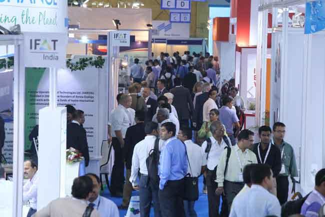 Die IFAT India ist die führende Umwelttechnologiemesse in Indien Foto: Messe München GmbH