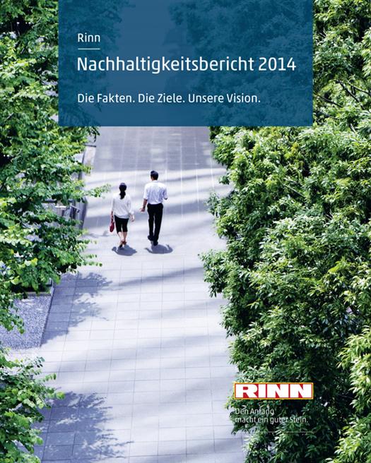Der zweite Nachhaltigkeitsbericht von Rinn fasst die Fortschritte der Energiewende bei Rinn anschaulich zusammen. Rinn Beton- und Naturstein GmbH & Co. KG
